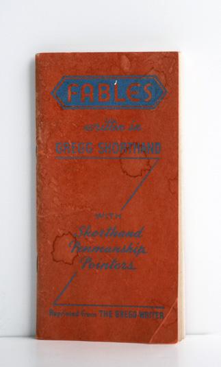 fableswritteninGreggshorthand